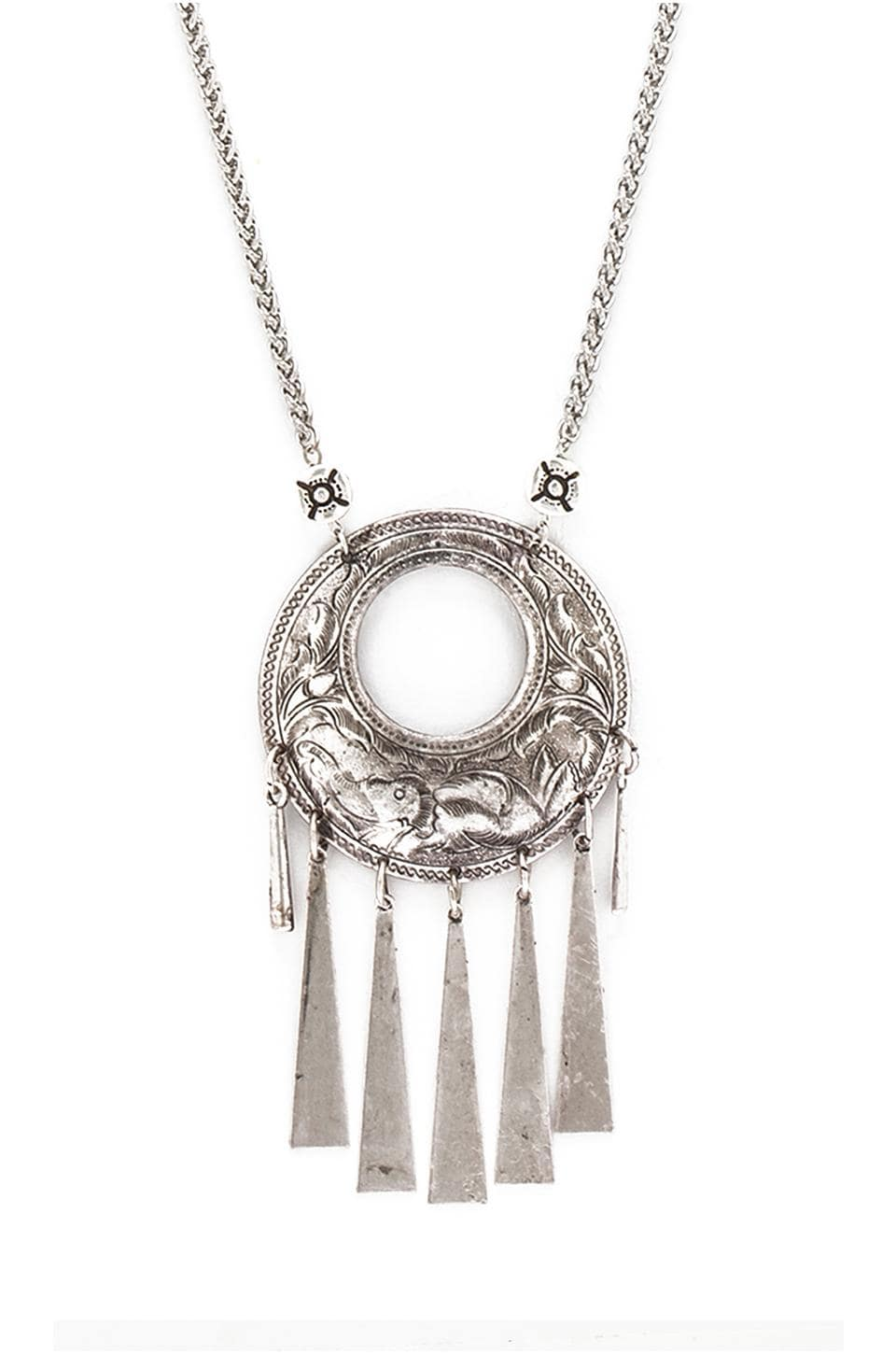 Vanessa Mooney Nebulous Necklace in Silver