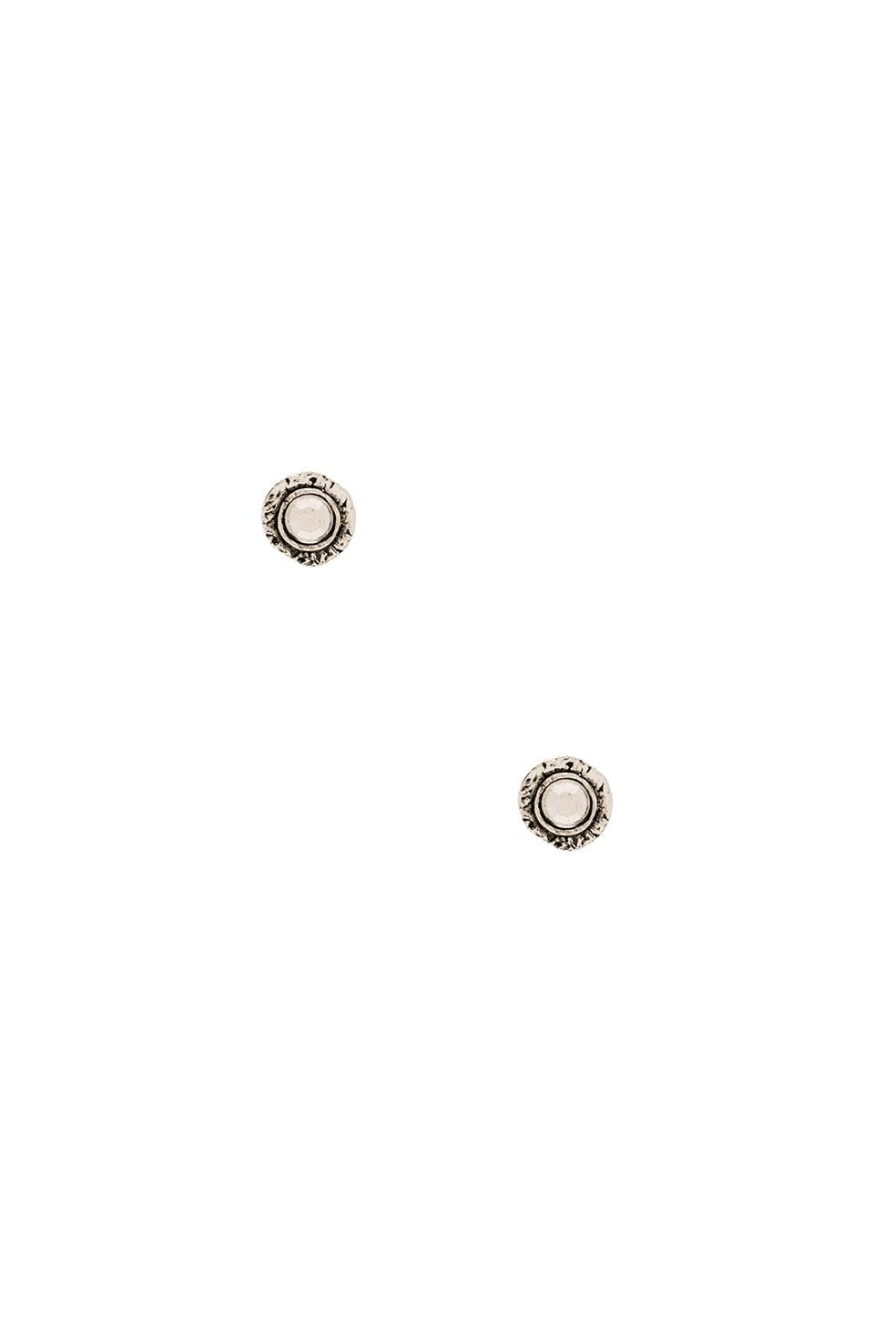 Vanessa Mooney Jupiter Stud Earrings in Silver