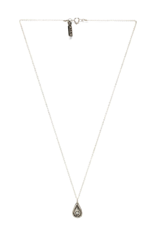 Vanessa Mooney Eclipse Necklace in Silver