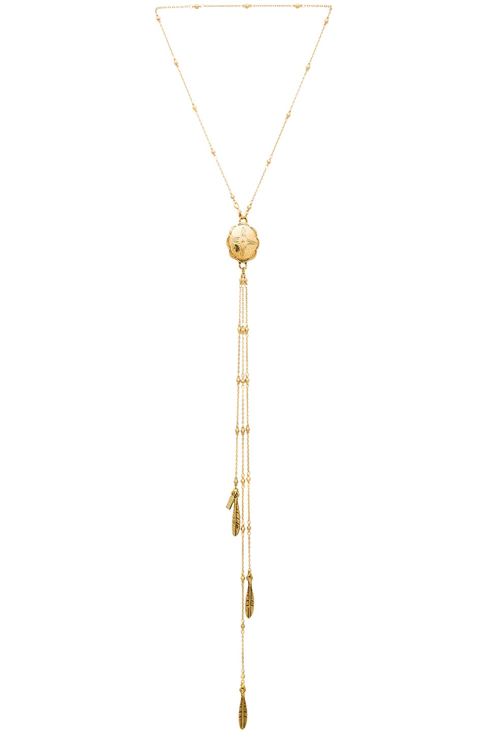 Vanessa Mooney The Marigold Necklace in Gold