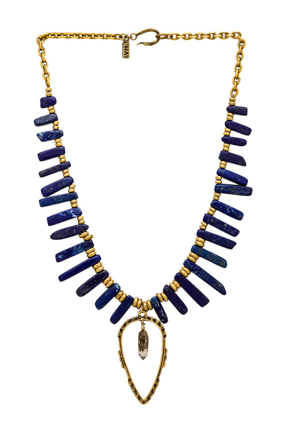 Vanessa Mooney The Lady Love Necklace in Gold