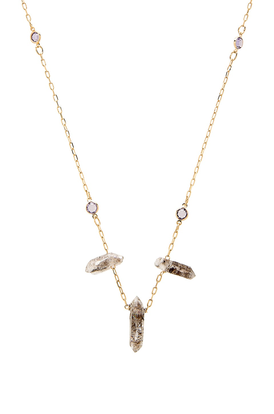 Vanessa Mooney The Halina Necklace in Gold