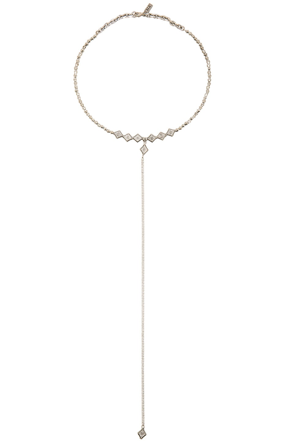 Vanessa Mooney The Elysee Necklace in Silver