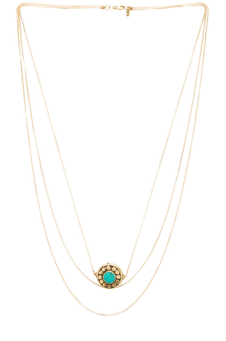 Vanessa Mooney Betty Necklace in Gold