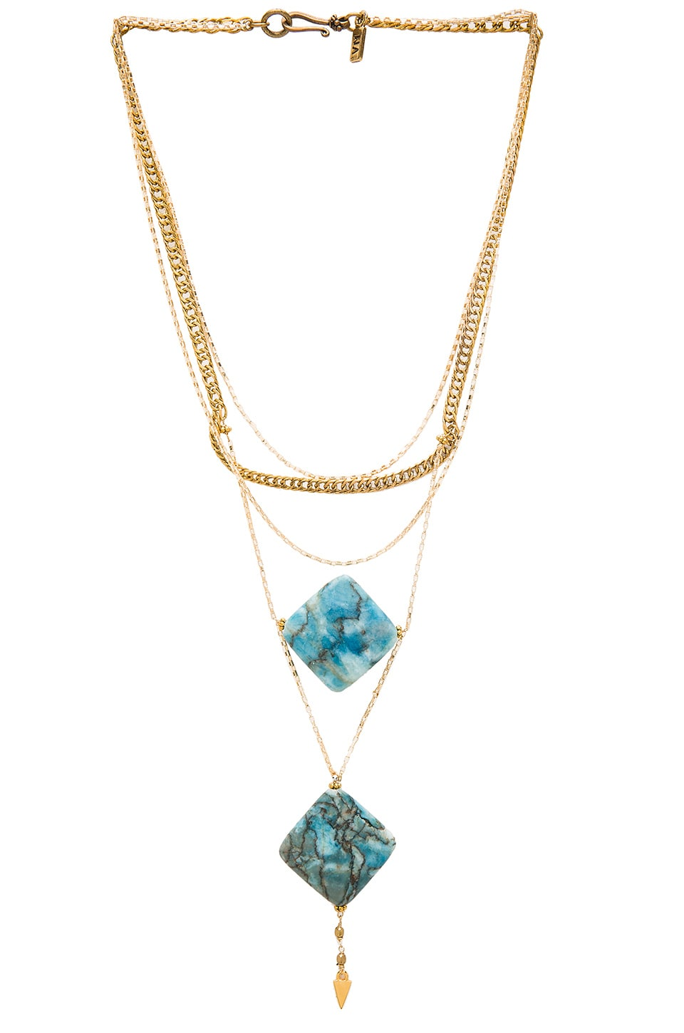 Vanessa Mooney Kismet Necklace in Gold