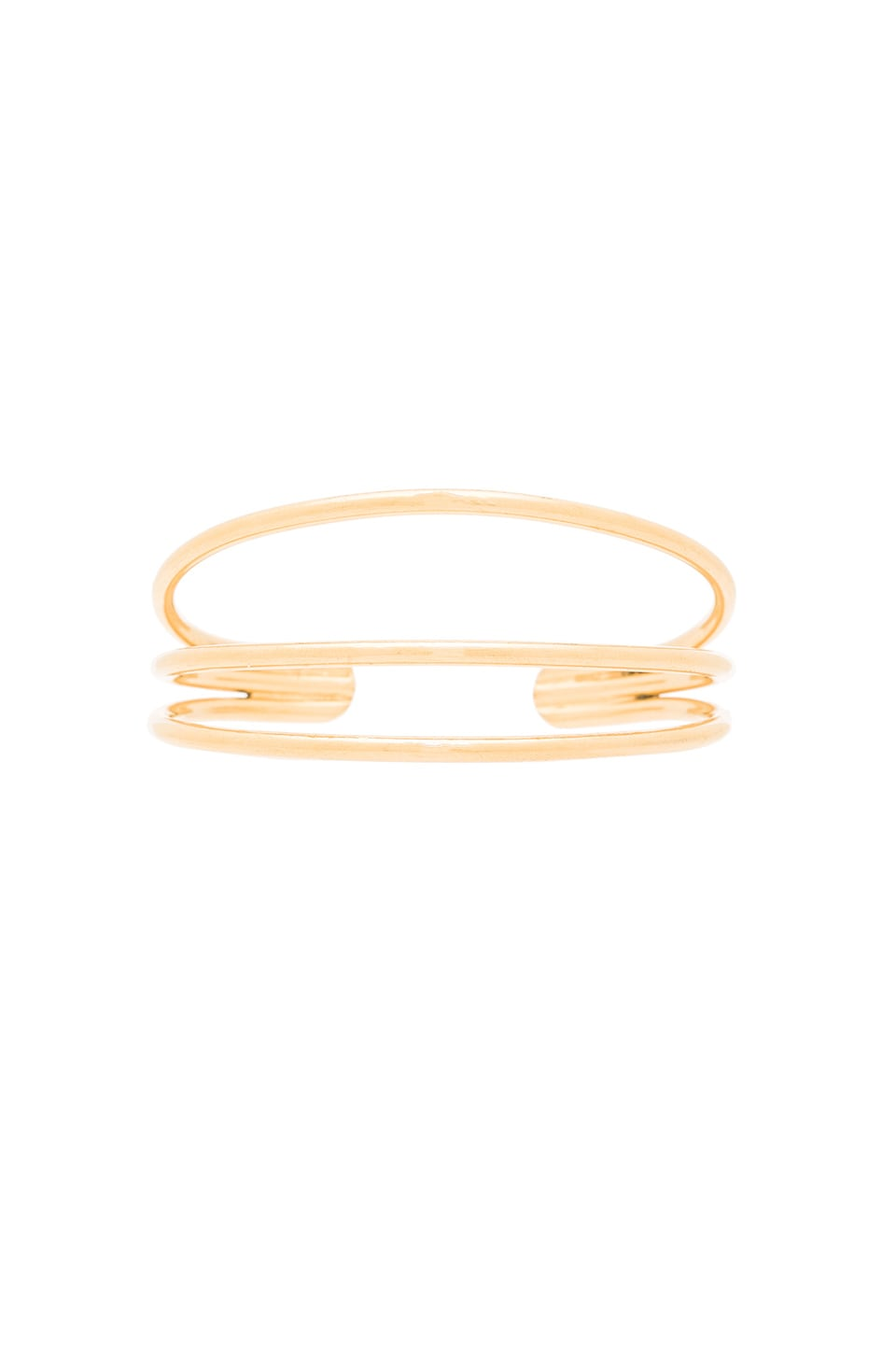 Vanessa Mooney Blondie Cuff Bracelet in Gold
