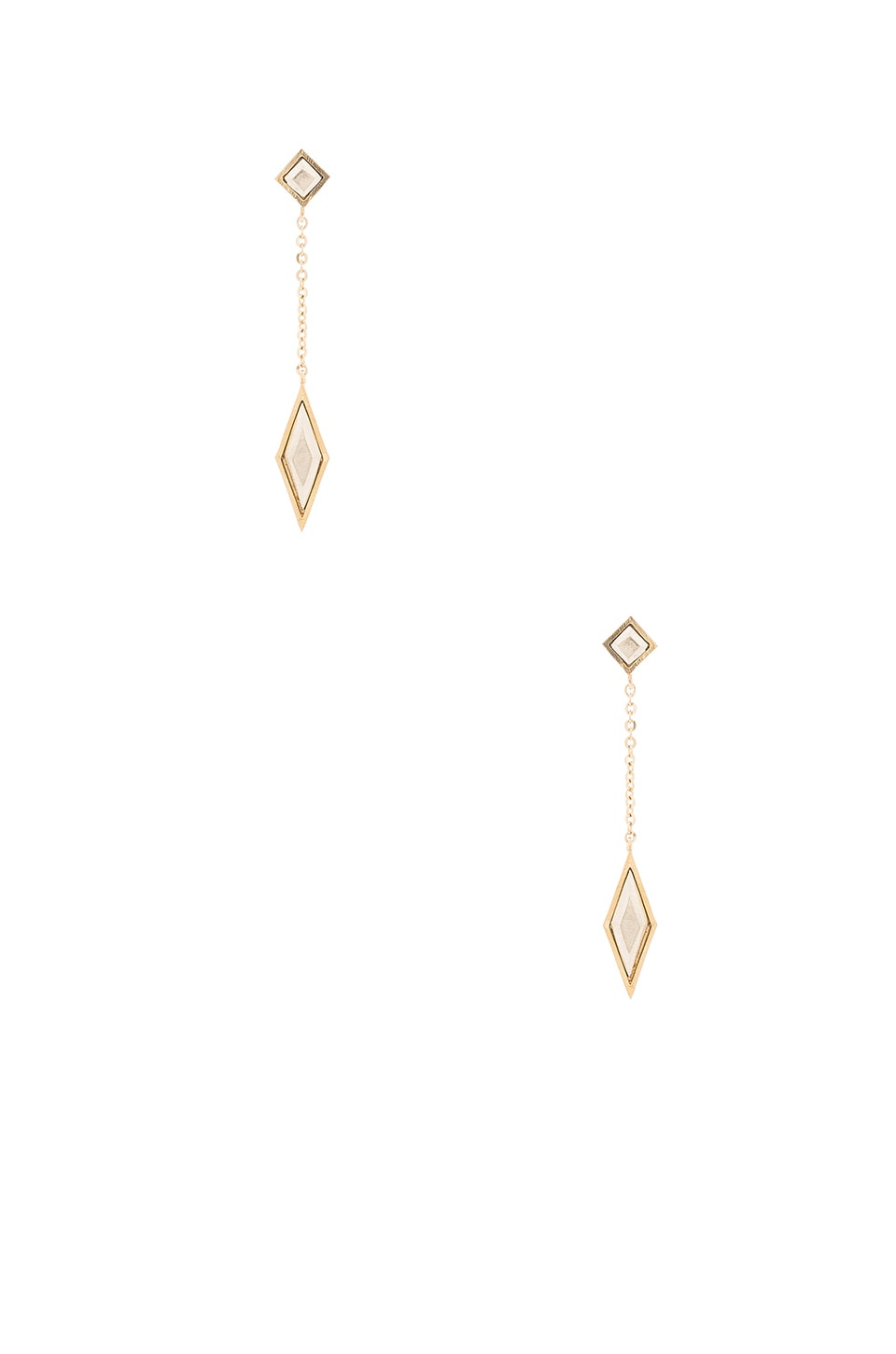 Vanessa Mooney Wild Belle Earrings in Gold