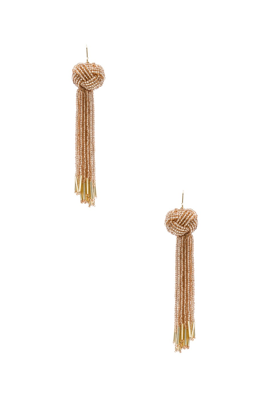 Vanessa Mooney x REVOLVE Darla Earrings in Champagne