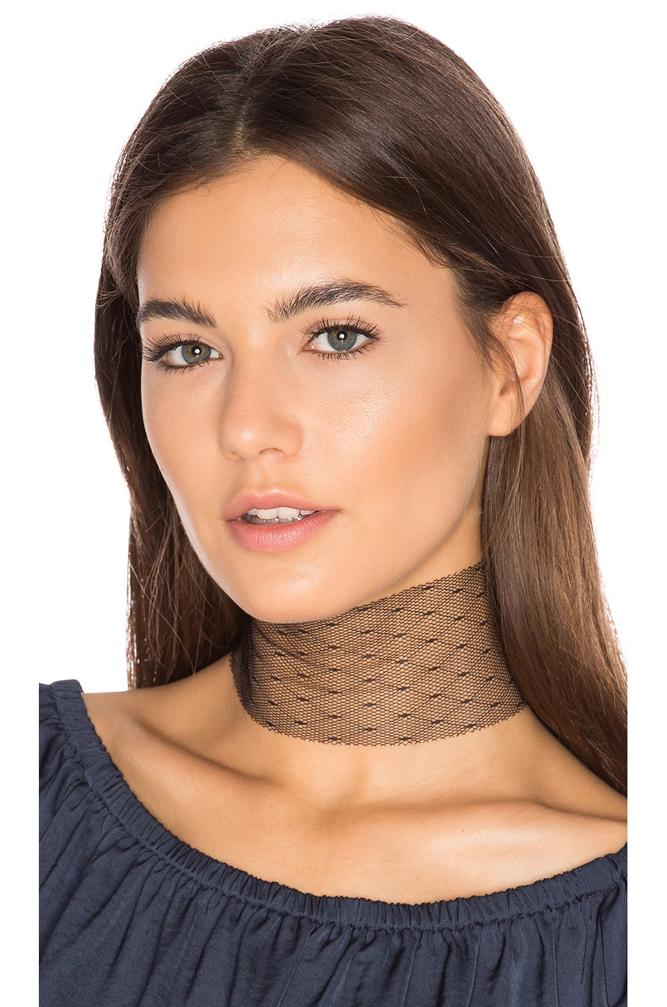 Vanessa Mooney Slayer Choker in Black