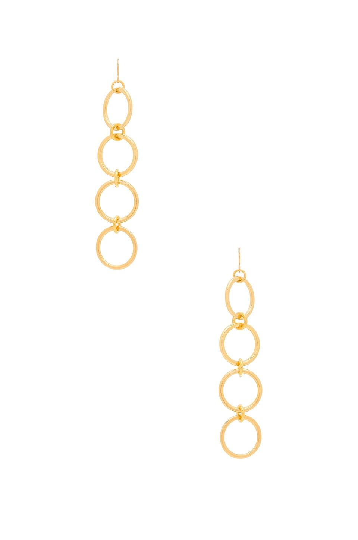 Vanessa Mooney Kiley Earrings in Gold