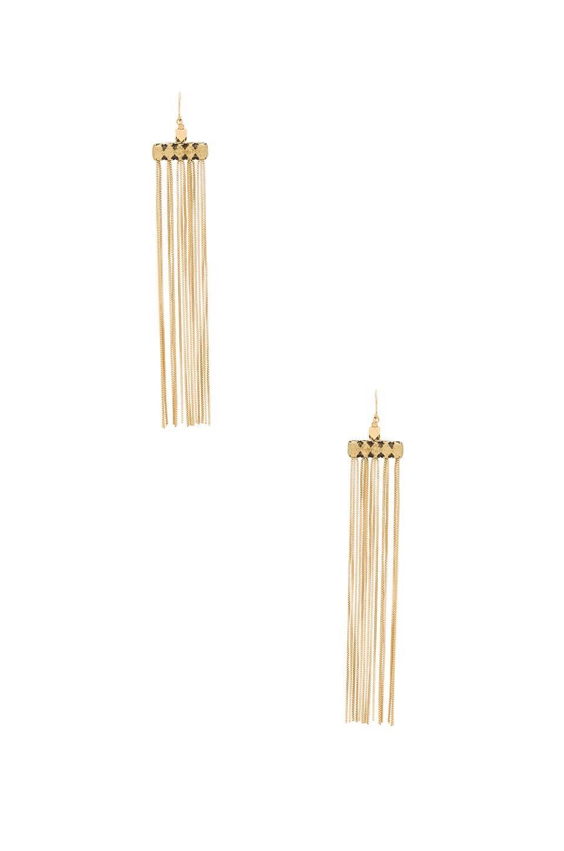 Vanessa Mooney Fara Earrings in Gold