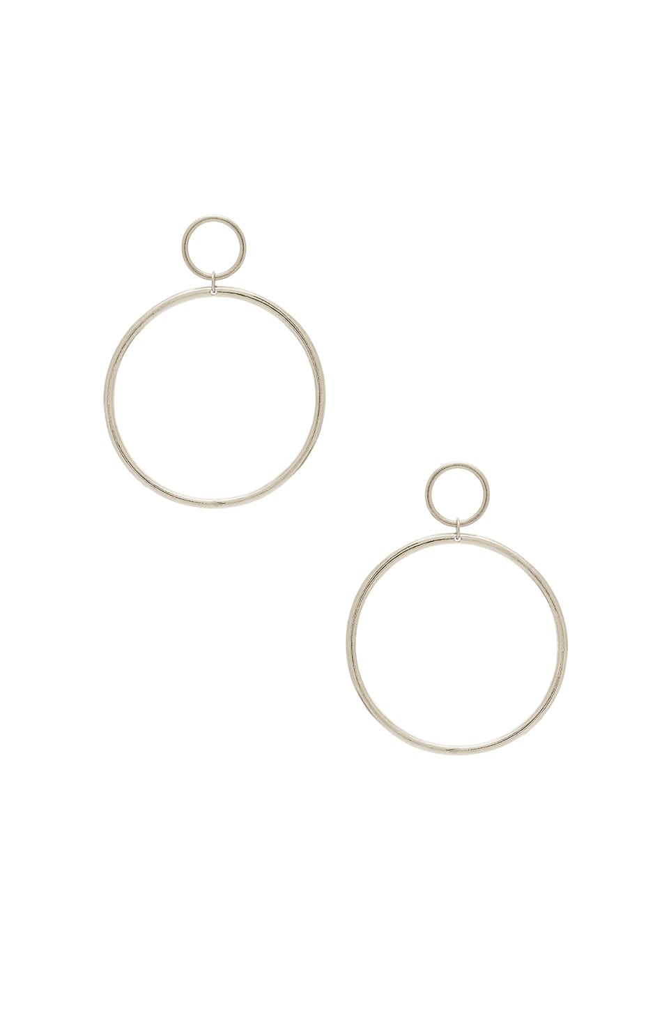 Vanessa Mooney Cadillac Earrings in Silver