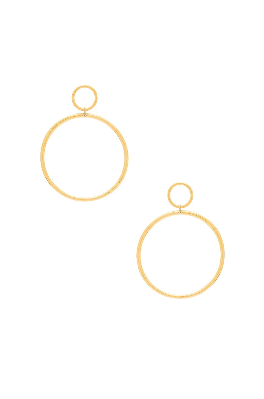 Vanessa Mooney Cadillac Earrings in Gold