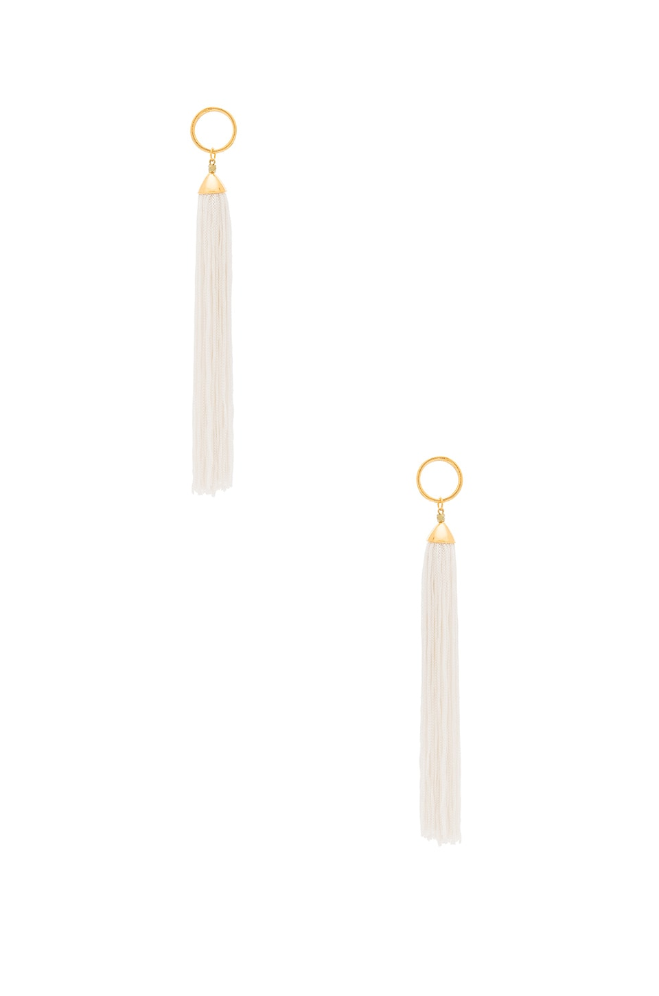 Vanessa Mooney Firefly Earrings in Ivory