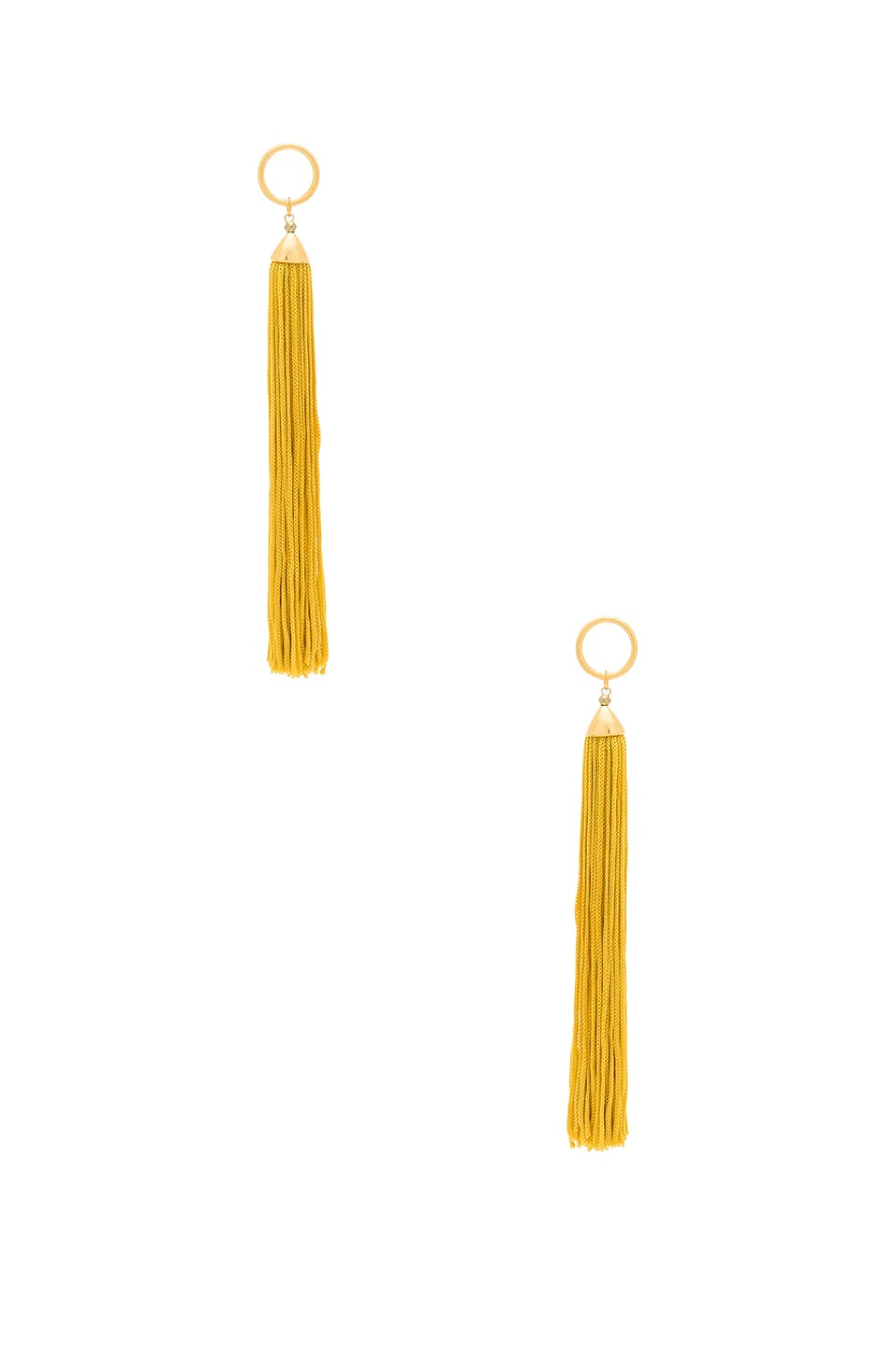 Vanessa Mooney Firefly Earrings in Gold