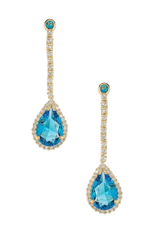Vanessa Mooney The Hocus Earrings in Light Blue