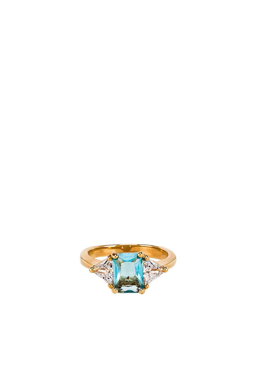 Vanessa Mooney The Mystic Light Blue Ring in Light Blue