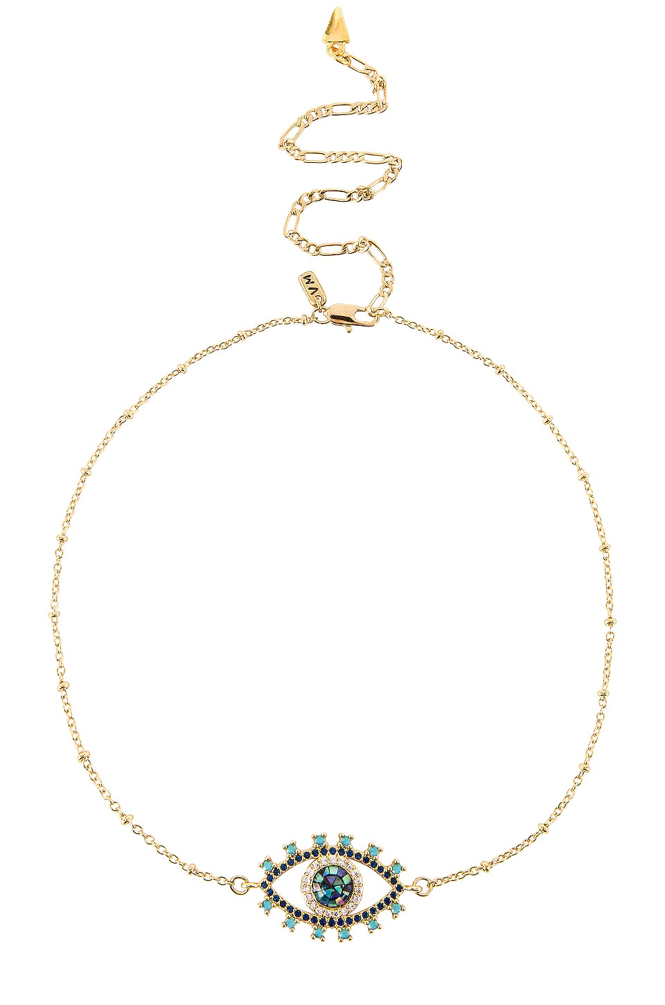 Vanessa Mooney The Glaring Necklace in Gold