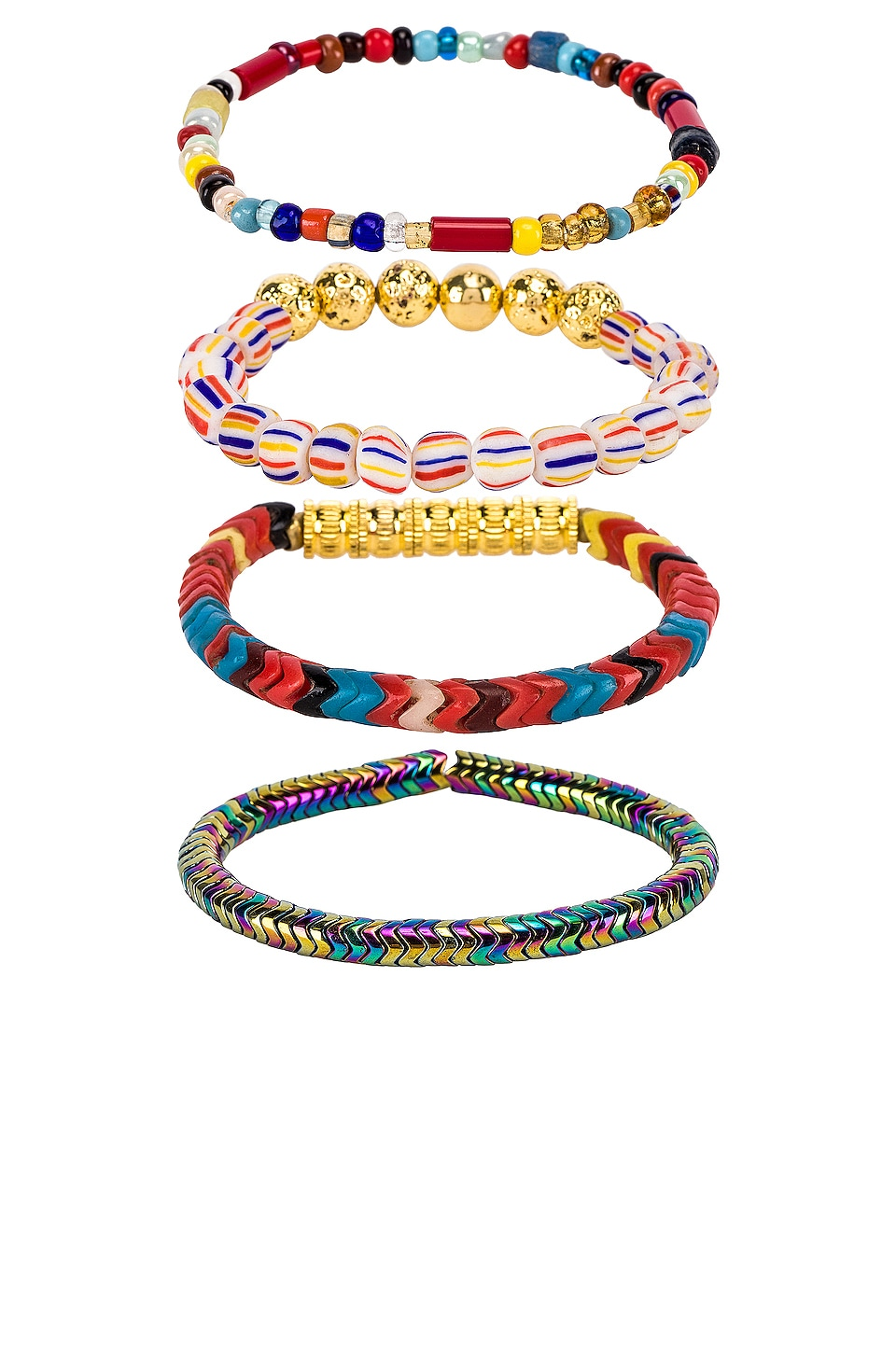 Vanessa Mooney The Wanderlust Bracelet in Multi