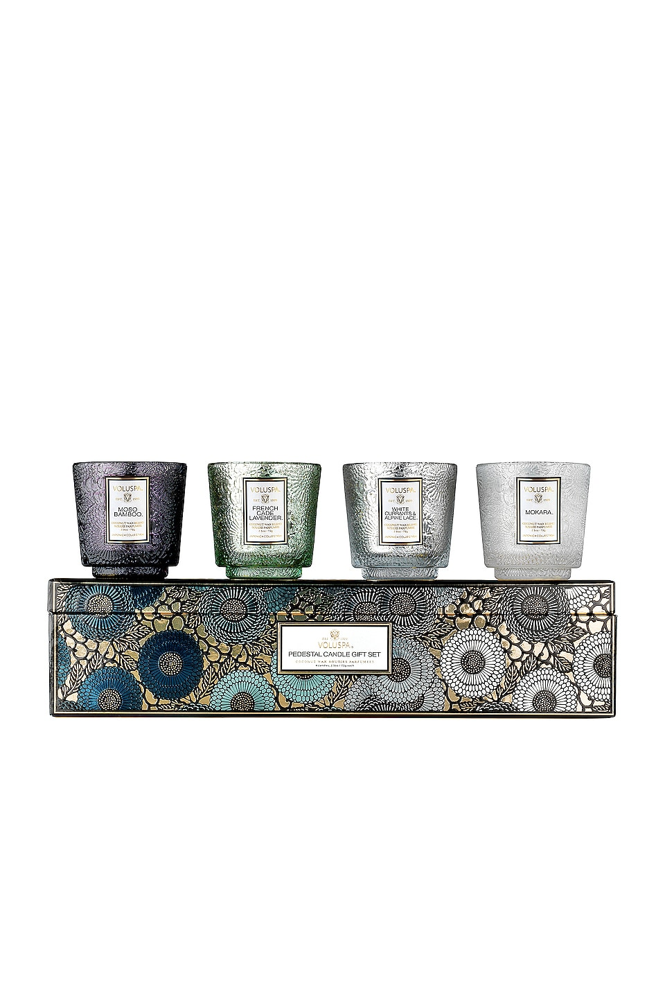 Voluspa SET VELAS REGALO PEDESTAL