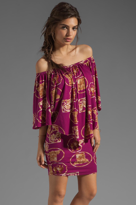 VOOM by Joy Han Tara Convertible Dress in Magenta