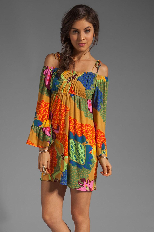 VOOM by Joy Han Felicity Long Sleeve Dress in Multi