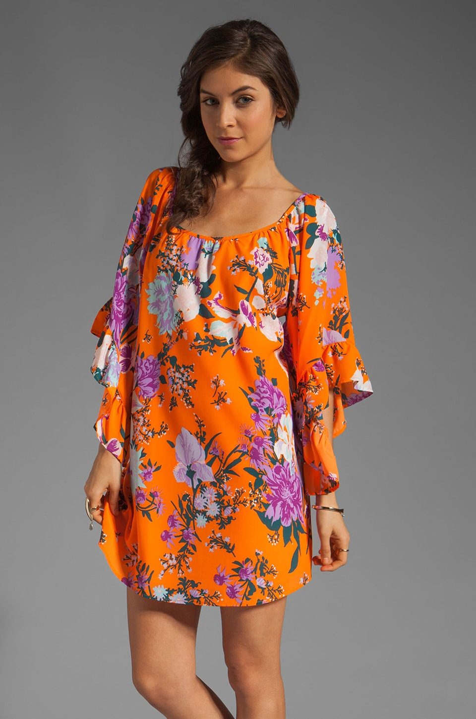 VOOM by Joy Han Sara Dress in Orange