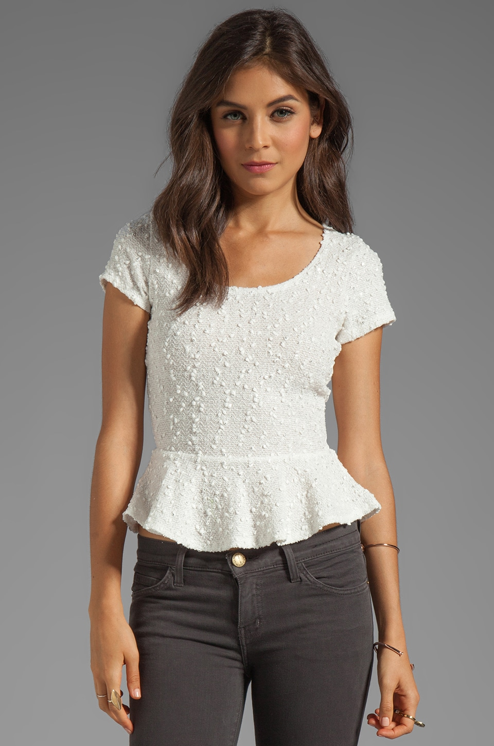 VOOM by Joy Han Penelope Top in White