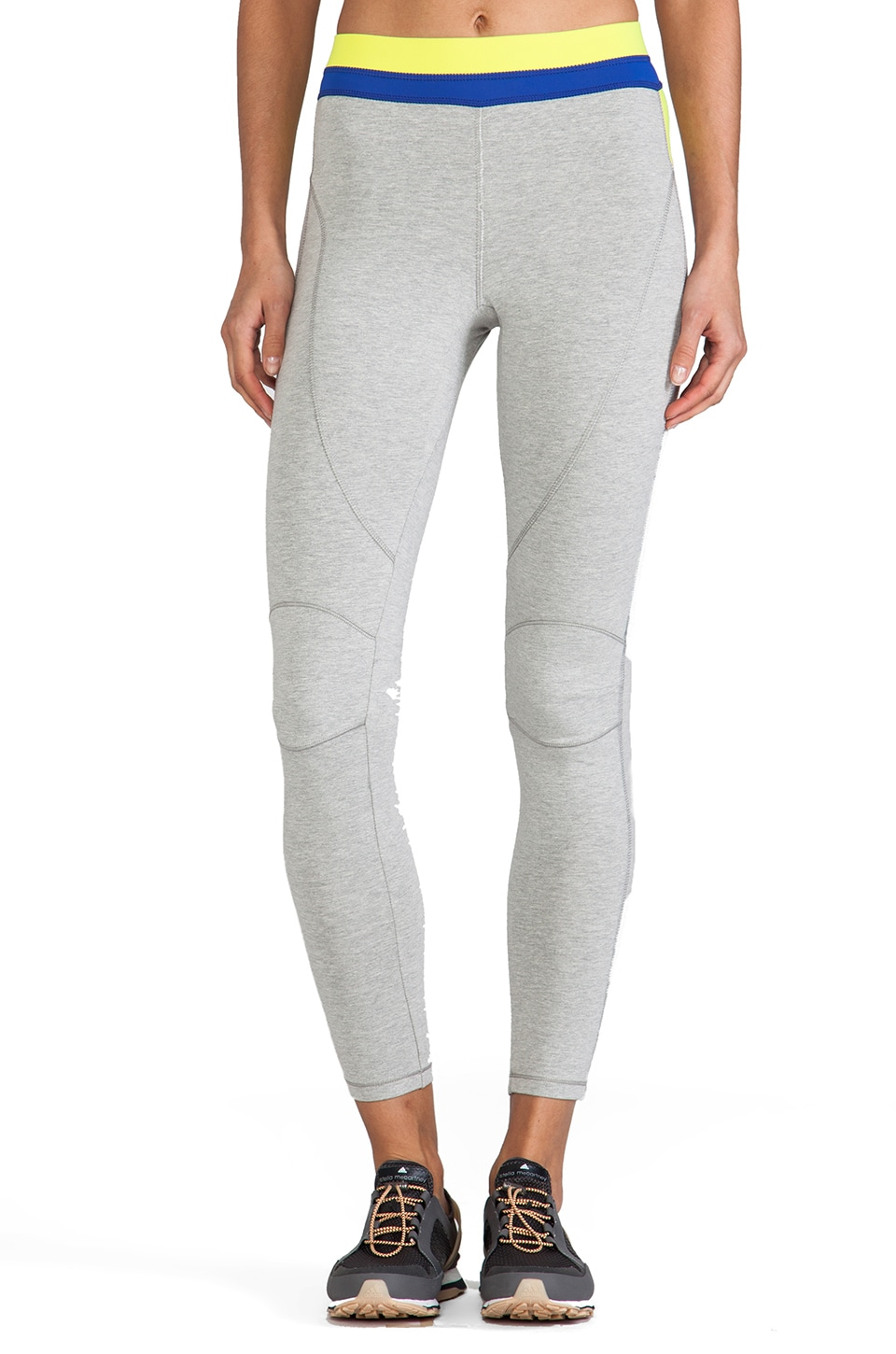 VPL Patella Long Legging in Heather Grey