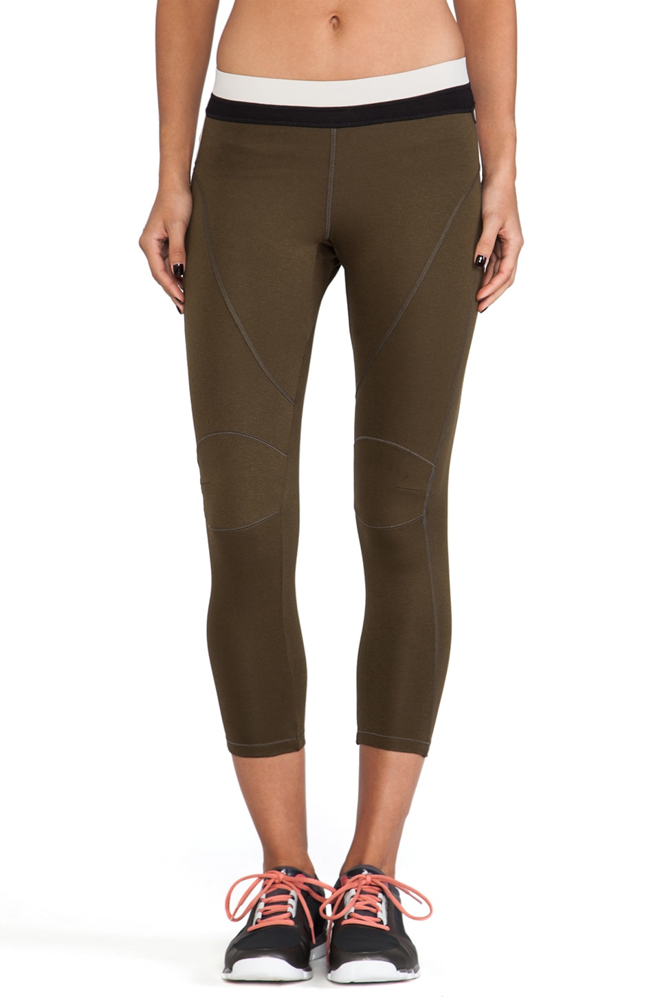 VPL Patella Long Legging in Military