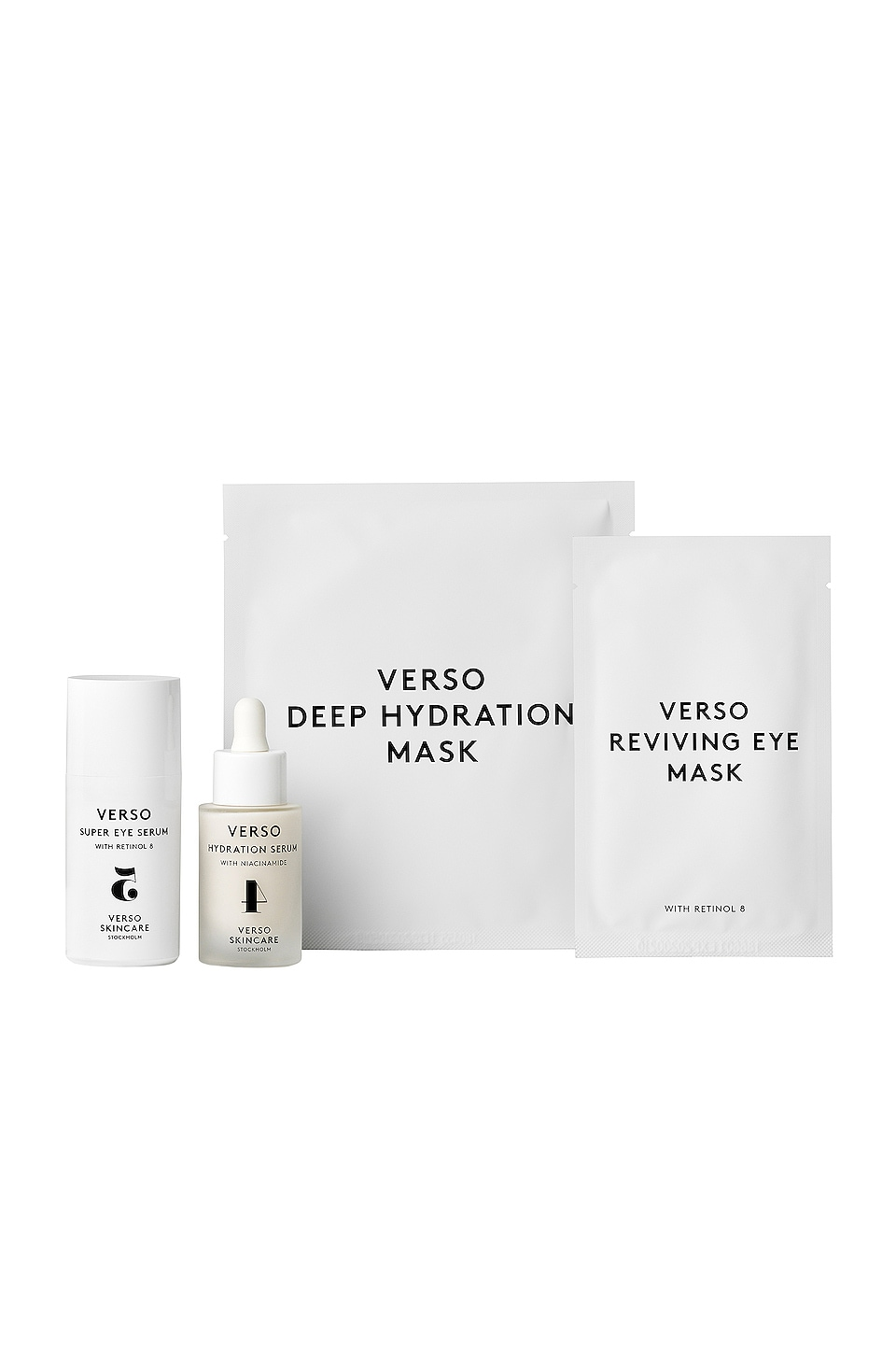 VERSO SKINCARE LOT MUST HAVE ICONS