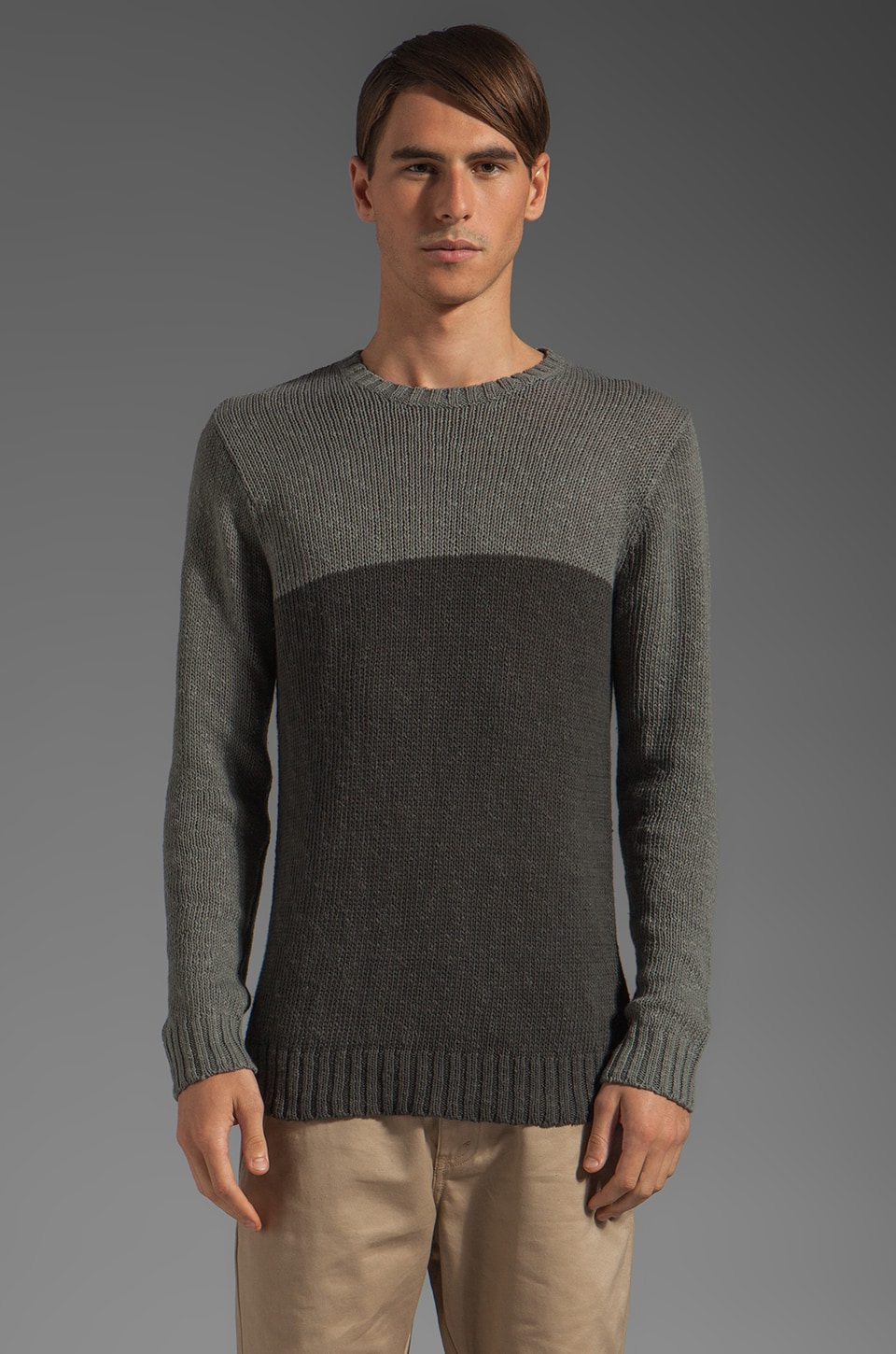 V.S.T.R Stow Away Sweater in Charcoal