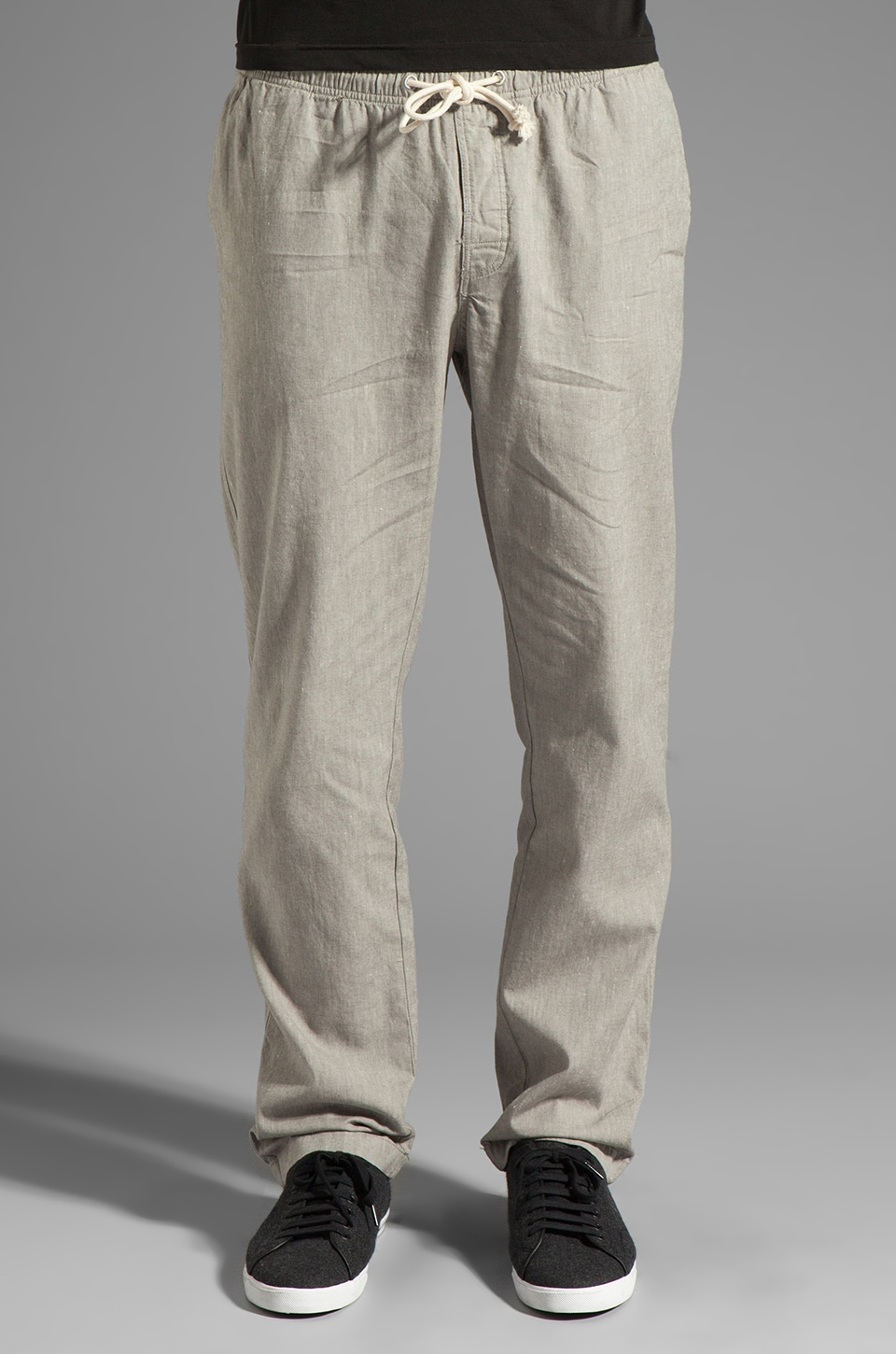 V.S.T.R Travel Pant in Charcoal Chambray