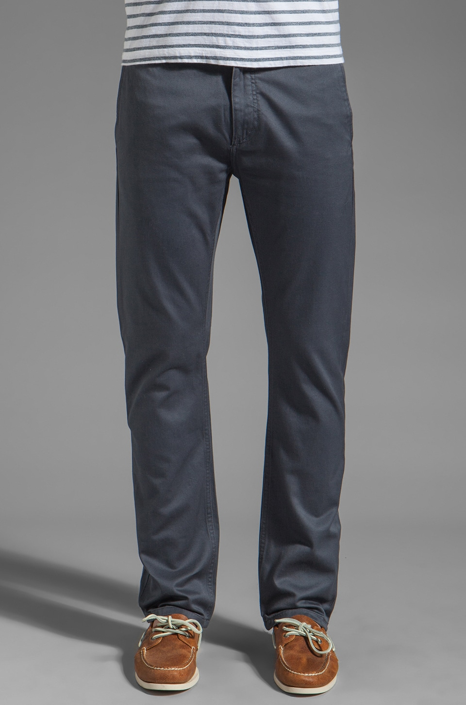 V.S.T.R Craftsman Selvedge Chino Pant in Ombre Blue