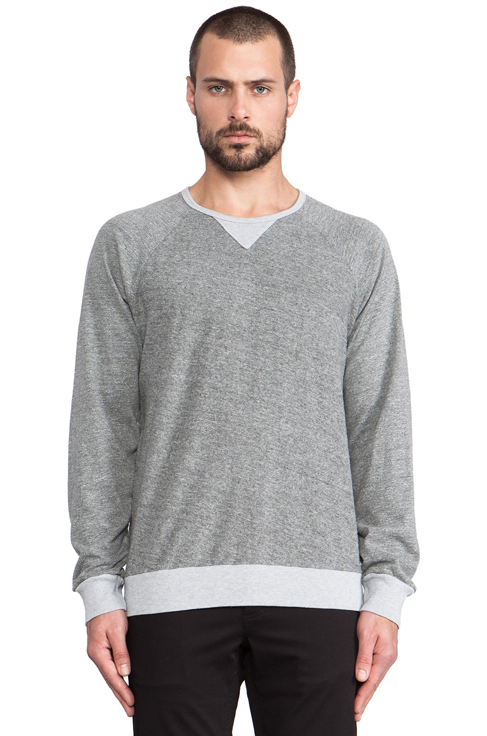 Velvet by Graham & Spencer Beau Sweatshirt in Heather Grey