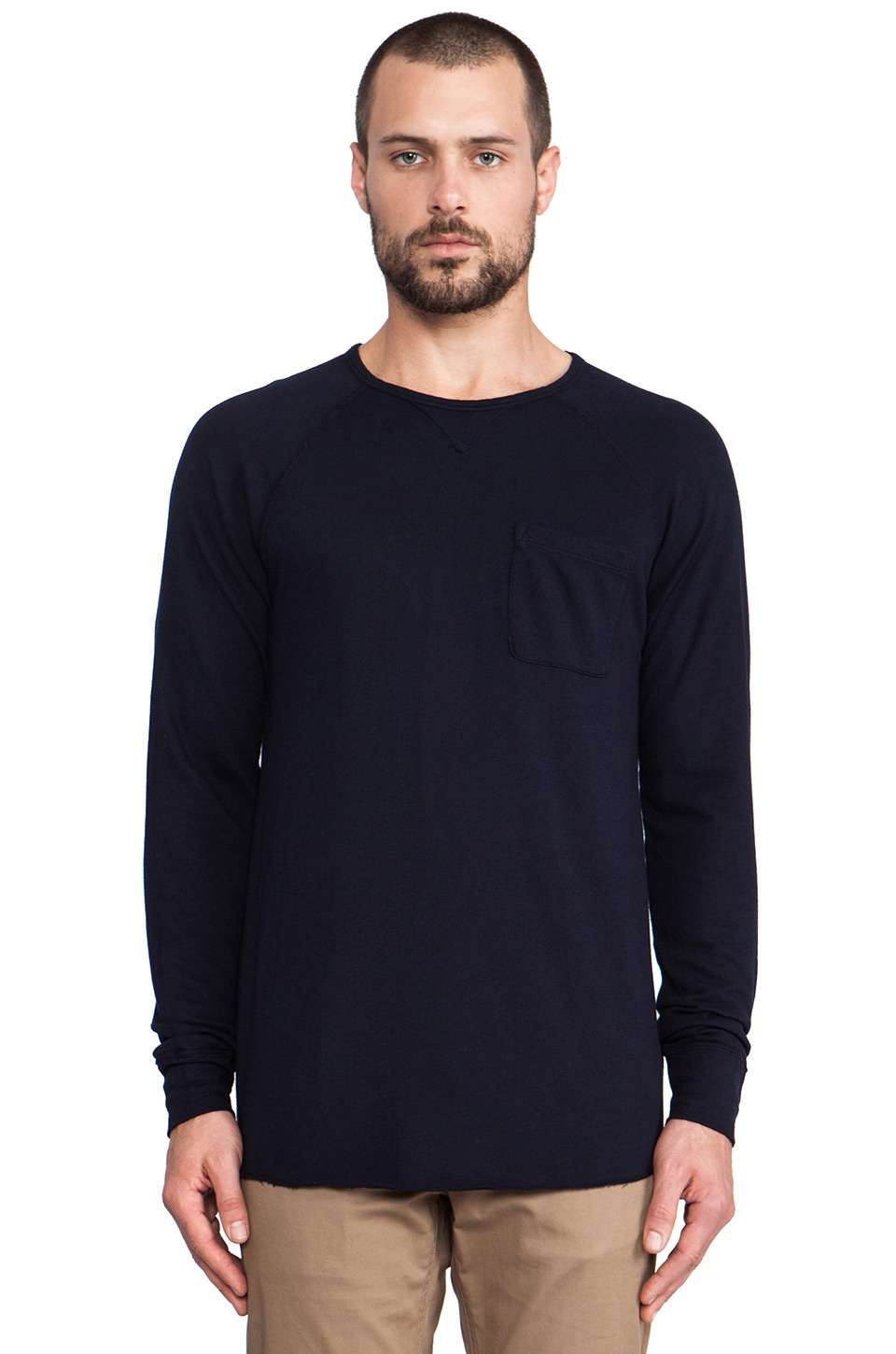Velvet by Graham & Spencer Emory Pullover in Midnight