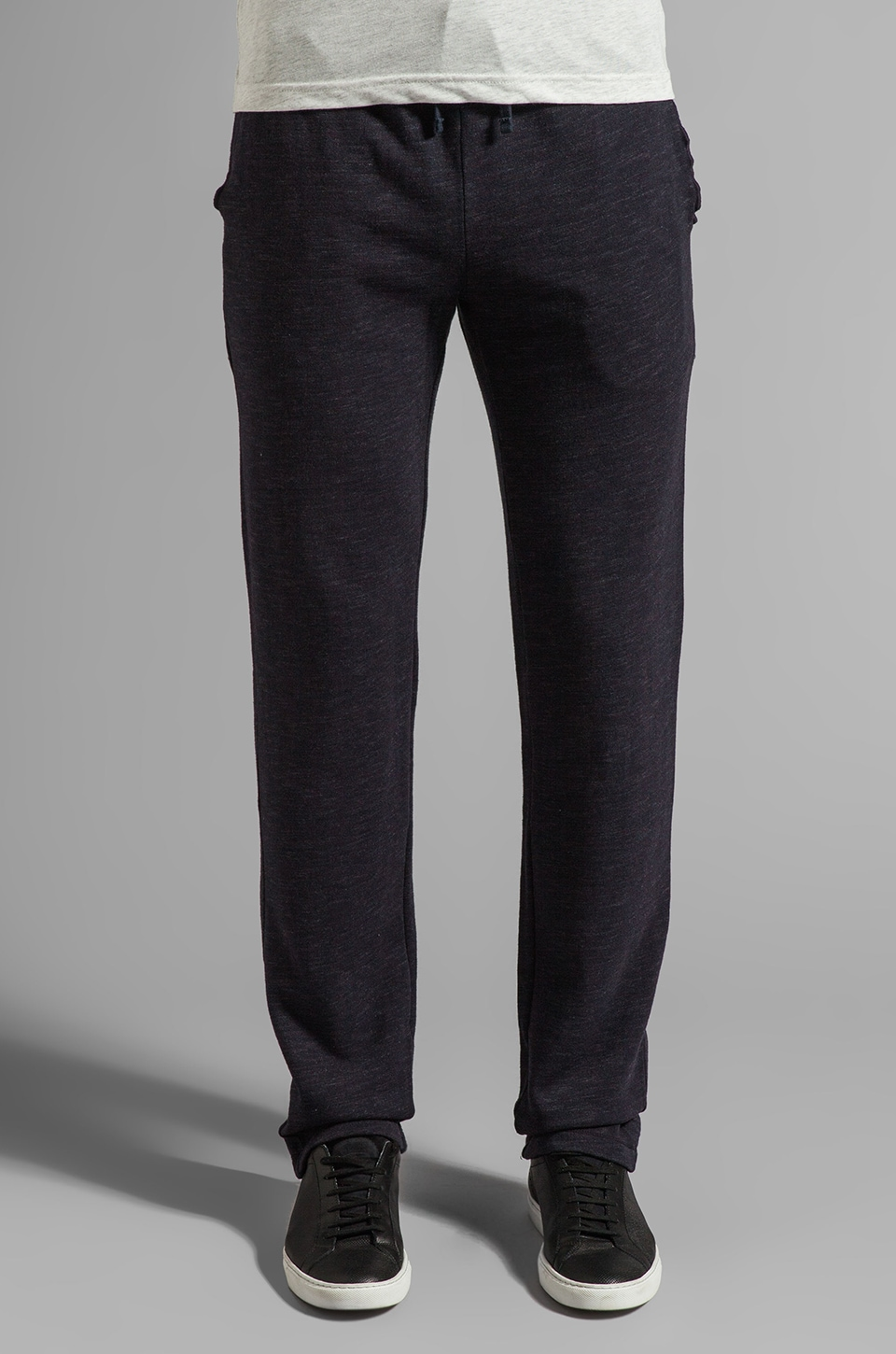 Velvet by Graham & Spencer Reginald Marble Fleece Sweatpant in Caspian