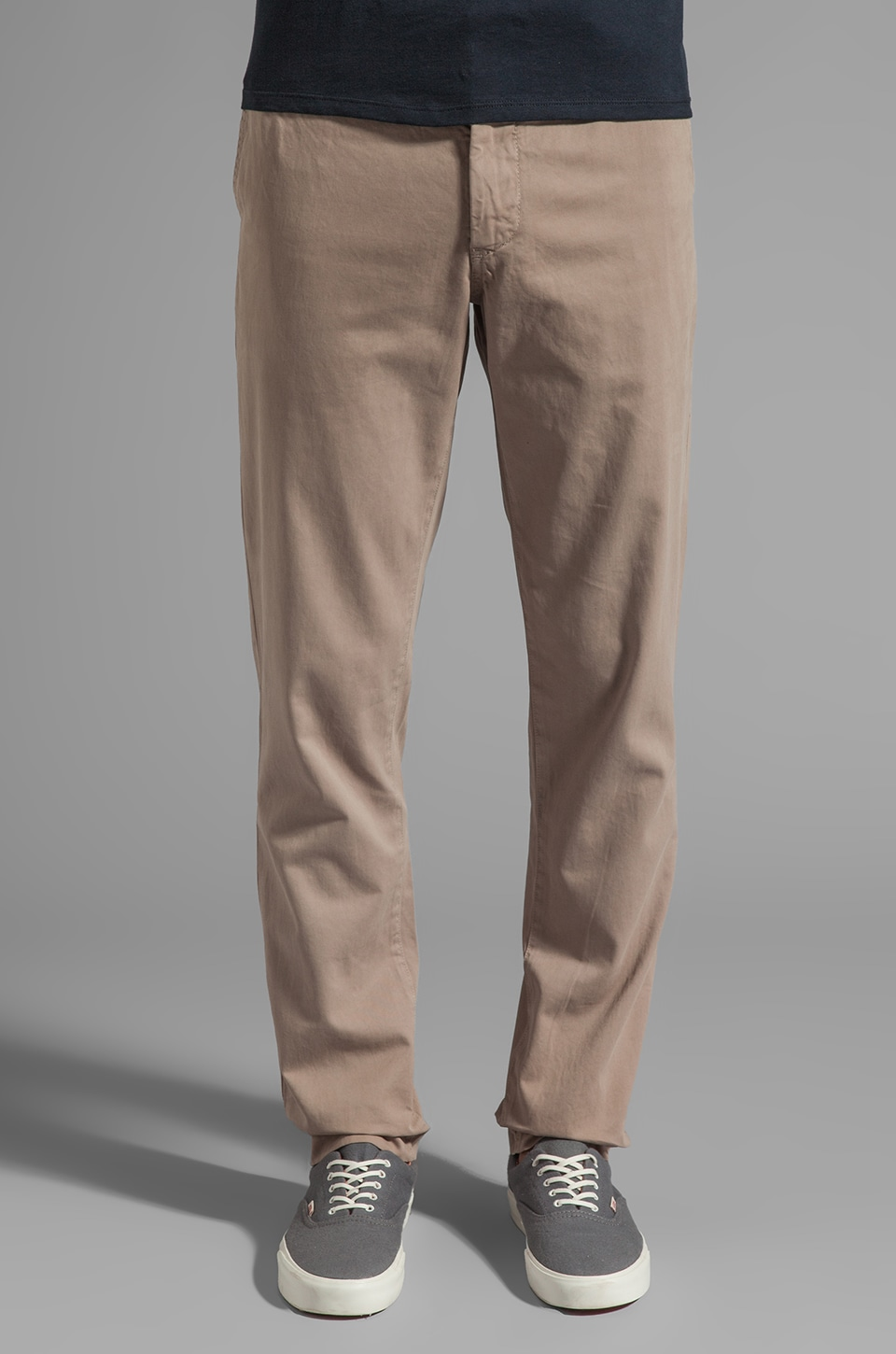 Velvet by Graham & Spencer Calvin Twill Pant in Taupe