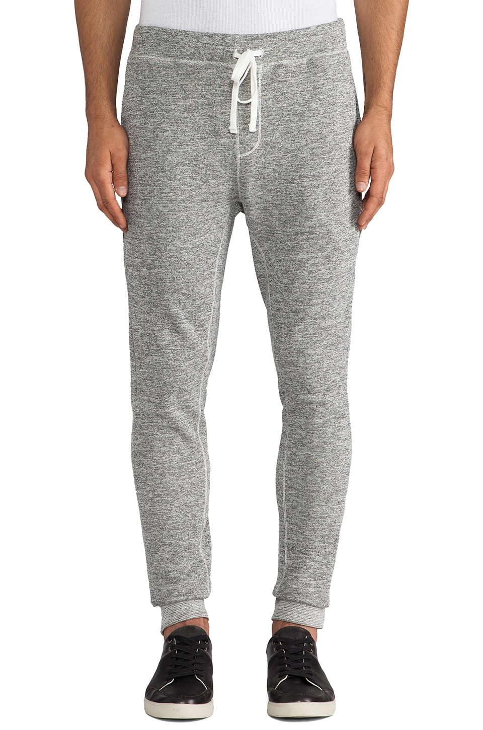 Velvet by Graham & Spencer Billyray French Terry Sweatpant in Heather