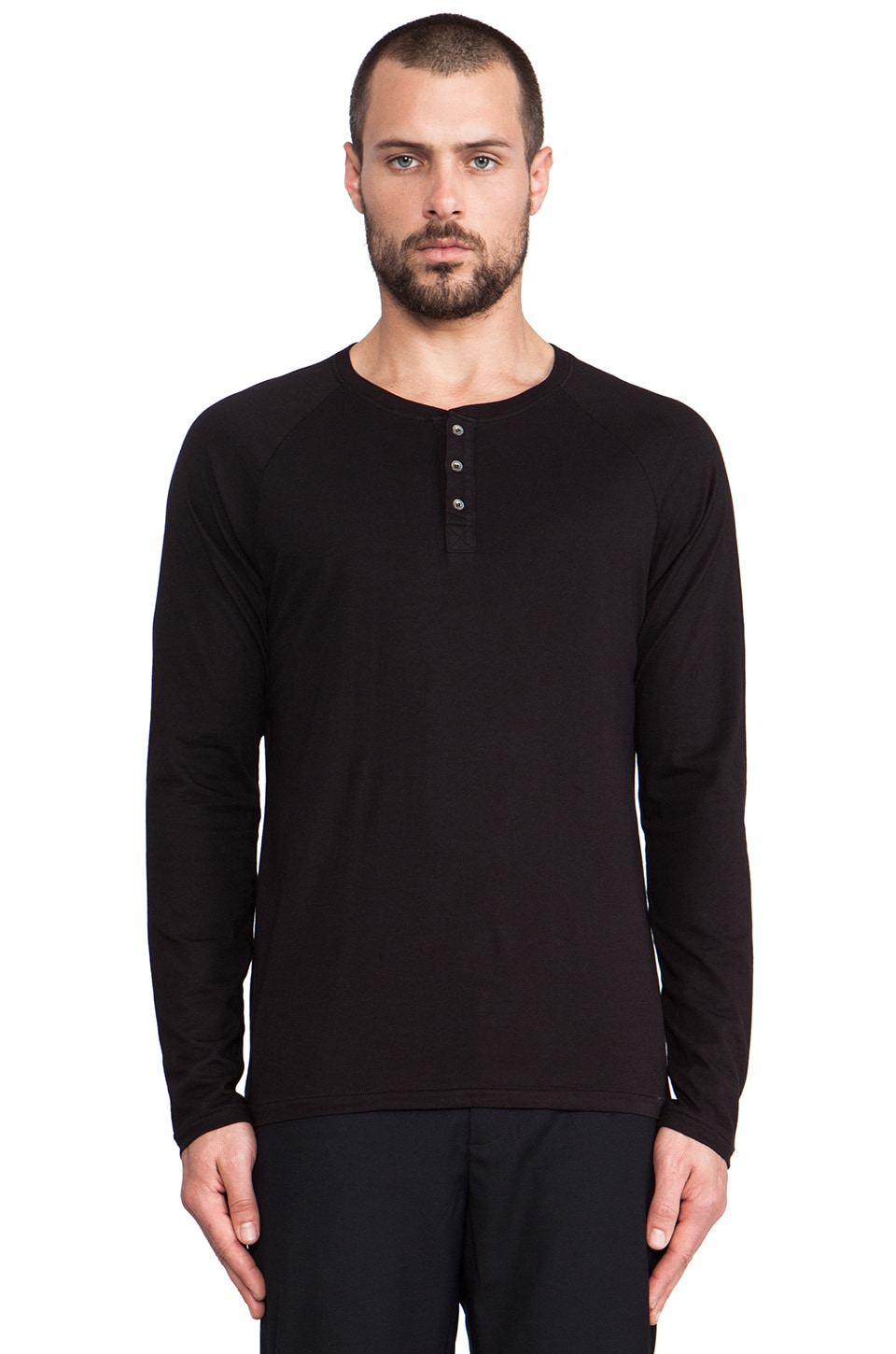 Velvet by Graham & Spencer Victor Henley in Black