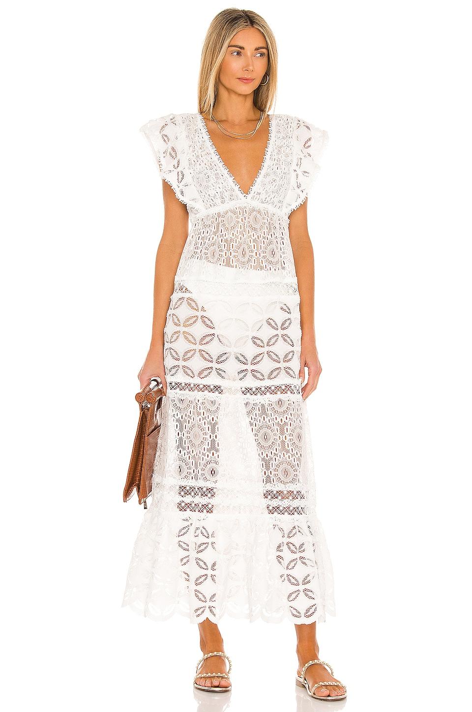 Waimari Nicole Dress in Ivory