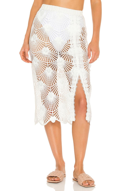 Waimari Brisas Skirt in White