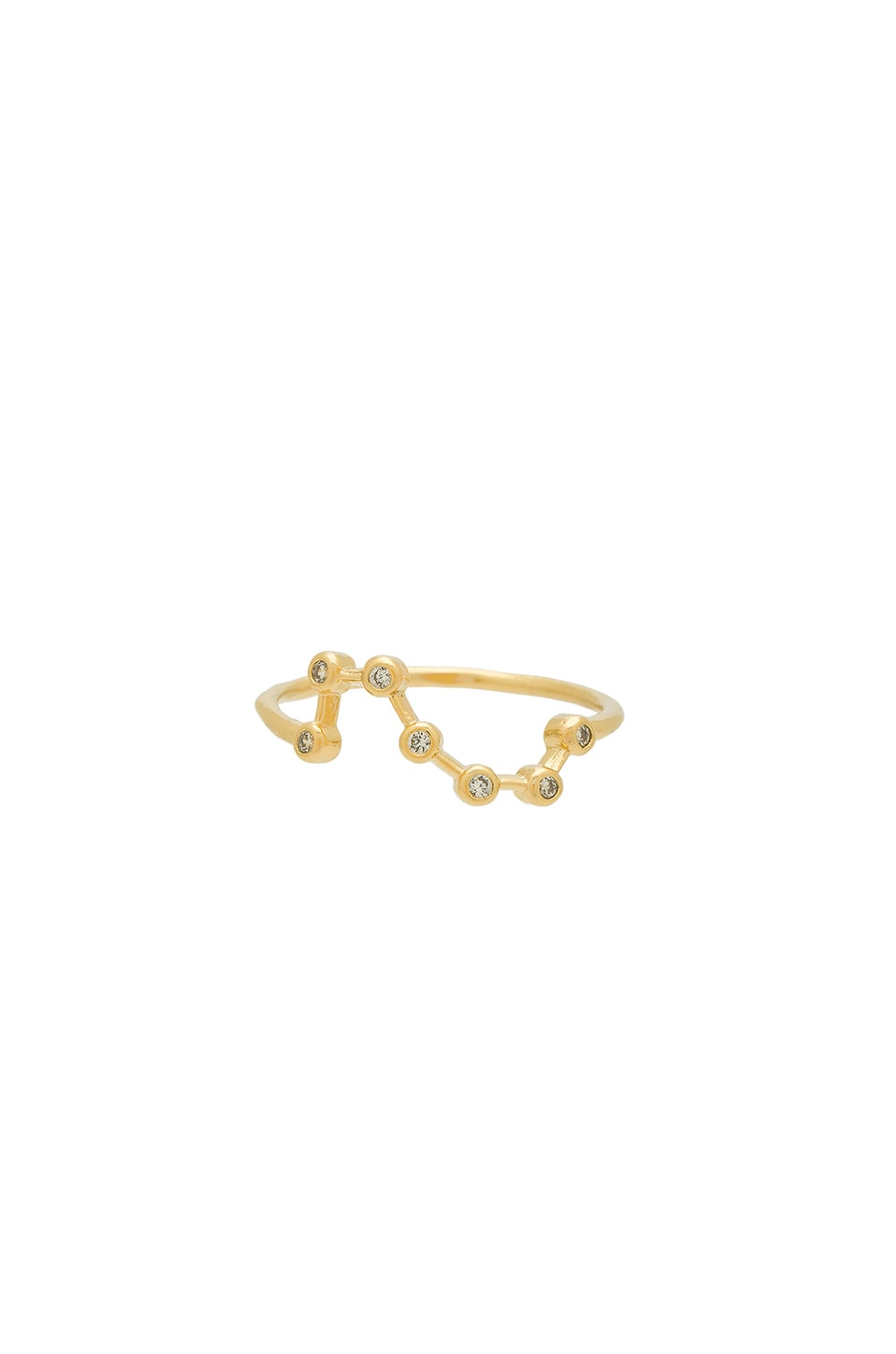 Wanderlust + Co Constellation Ring in Gold