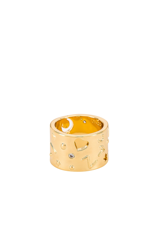 Wanderlust + Co Aleya Ring in Gold
