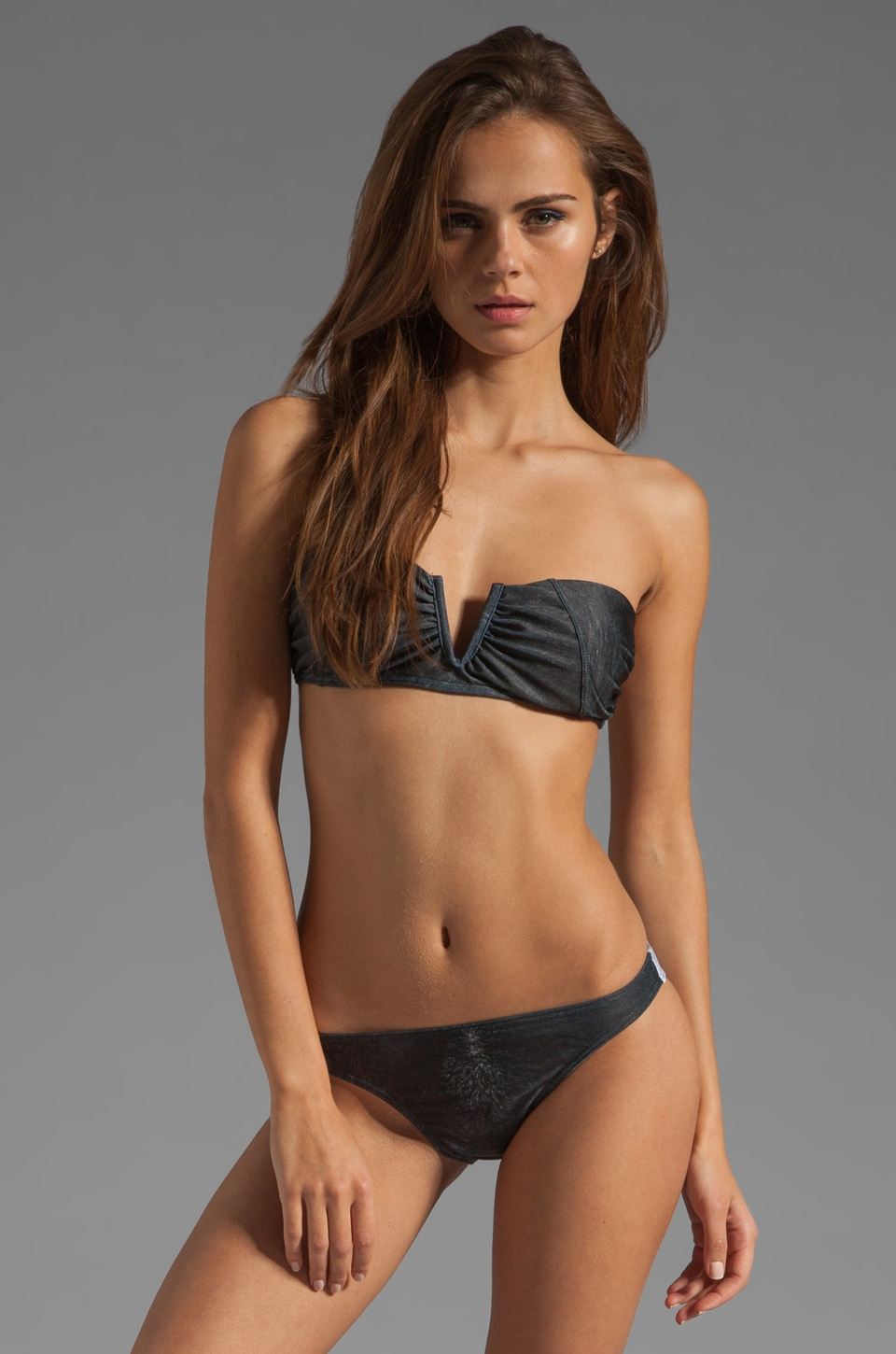 We Are Handsome Bandeau Bikini in Gentle Warrior