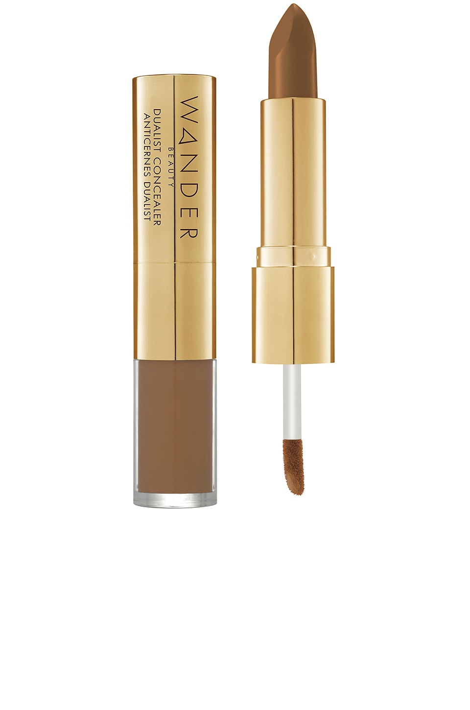Wander Beauty Dualist Matte and Illuminating Concealer in Deep