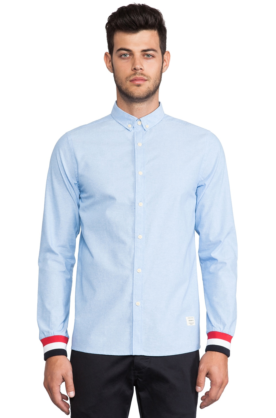 Weekend Offender Kempton Shirt in Blue