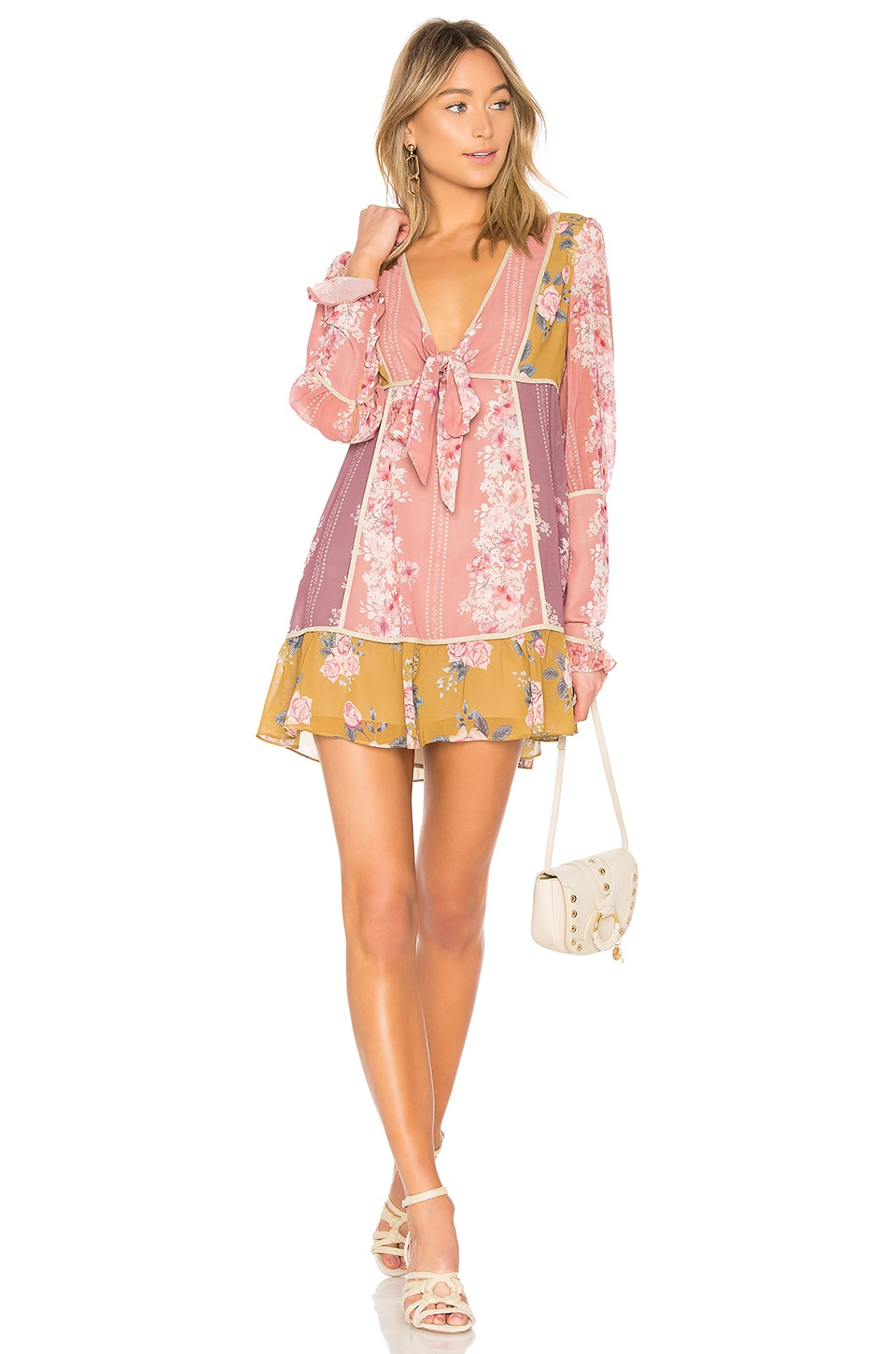 WE ARE KINDRED FLORENCE MINI DRESS