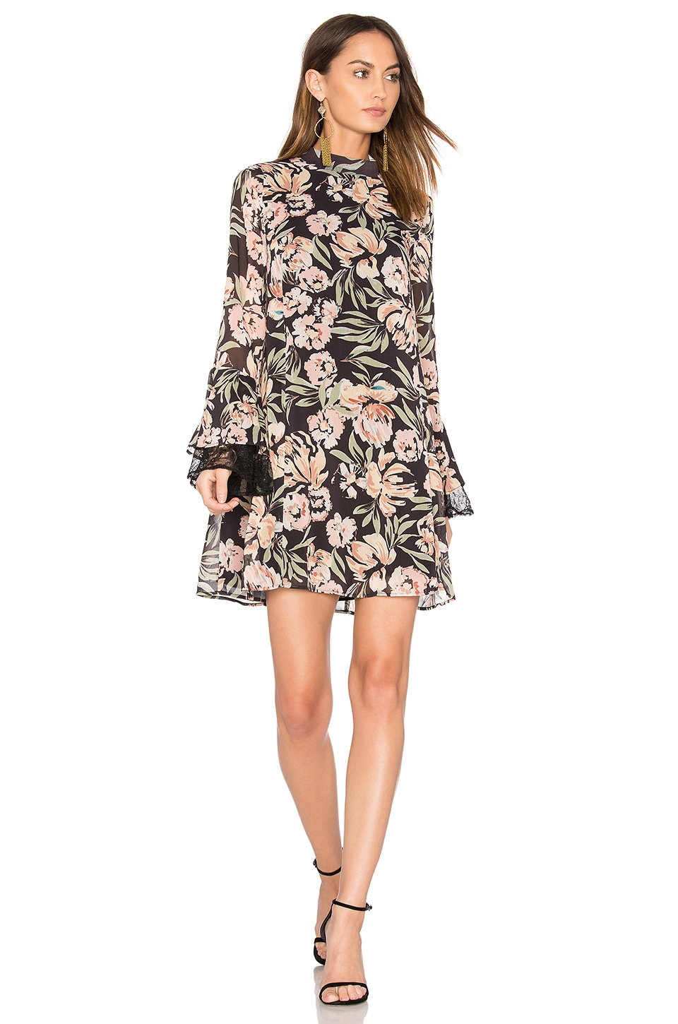 Jojo Frill Sleeve Dress by We Are Kindred