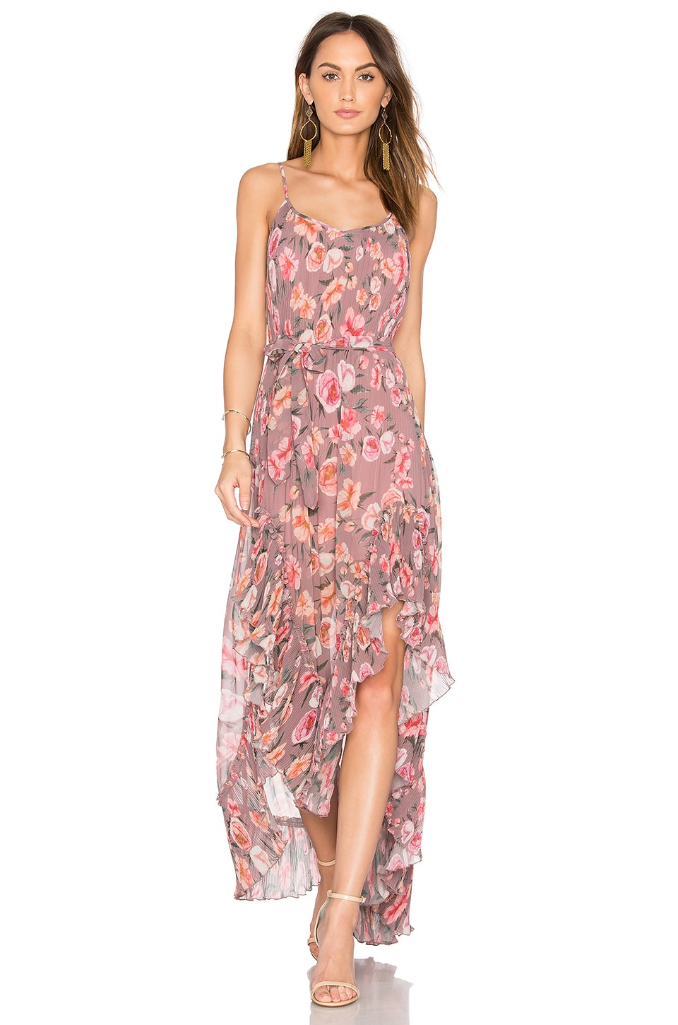 We Are Kindred ROBE MAXI PLISSÉE MAGGIE
